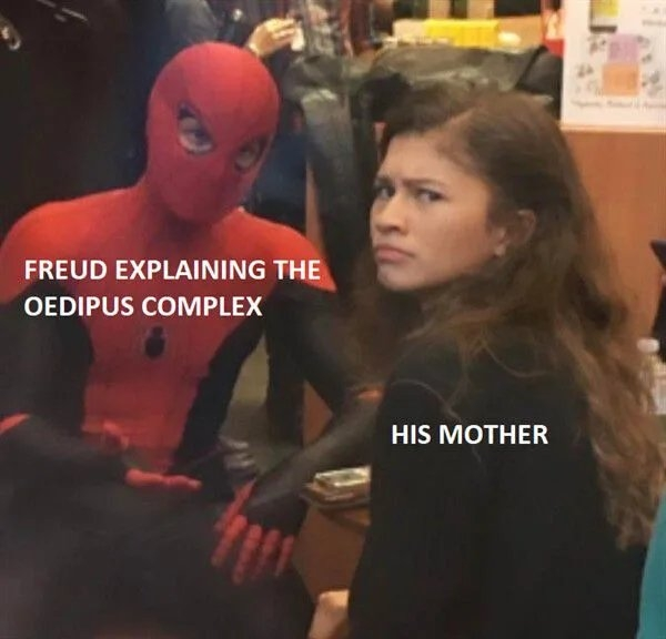 FREUD EXPLAINING THE OEDIPUS COMPLEX HIS MOTHER