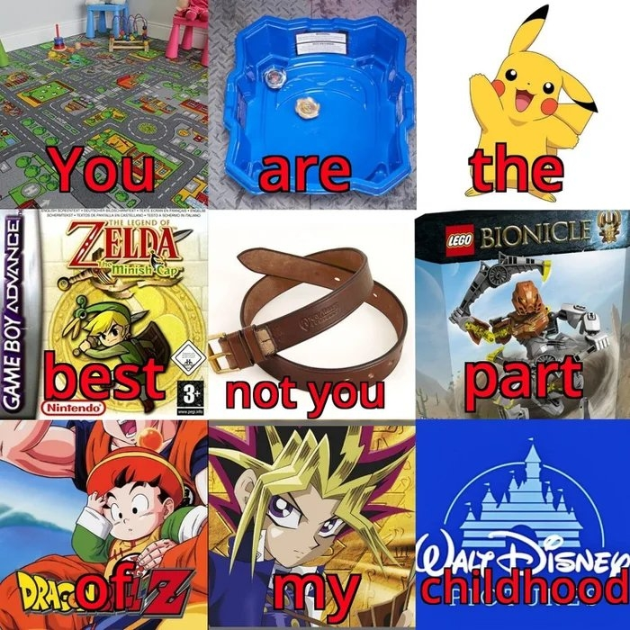 You are the THE LEGEND OF ZELRA LEGO BIONICLE minish Cap best E not you part Nintendo ALTISNEY DRAOT childinood Ailahood GAME BOY ADVANCE