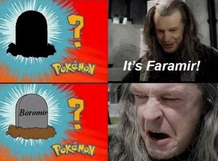 POKÉMON It's Faramir! Boromir PekEMON