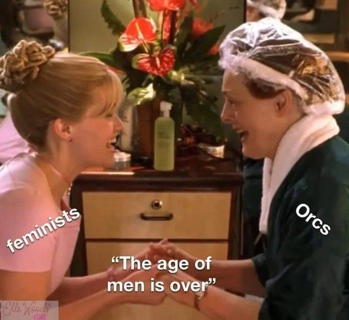 Orcs feminists