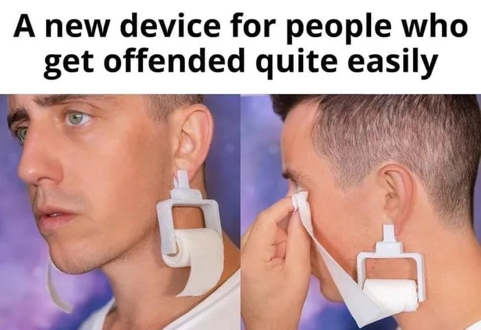 A new device for people who get offended quite easily