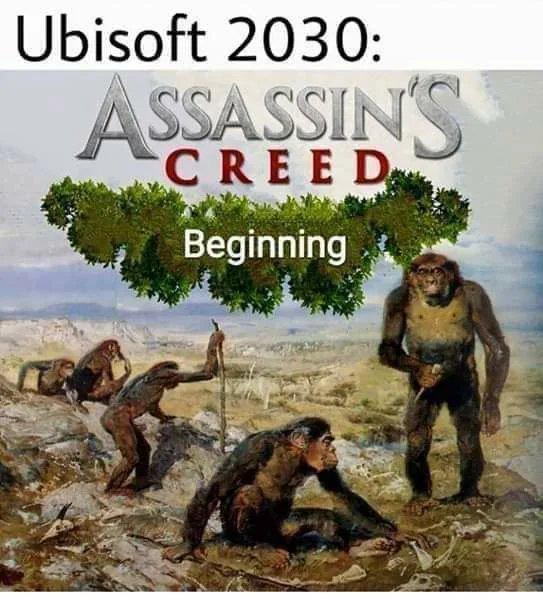 Ubisoft 2030: ASSASSINS CREED Beginning
